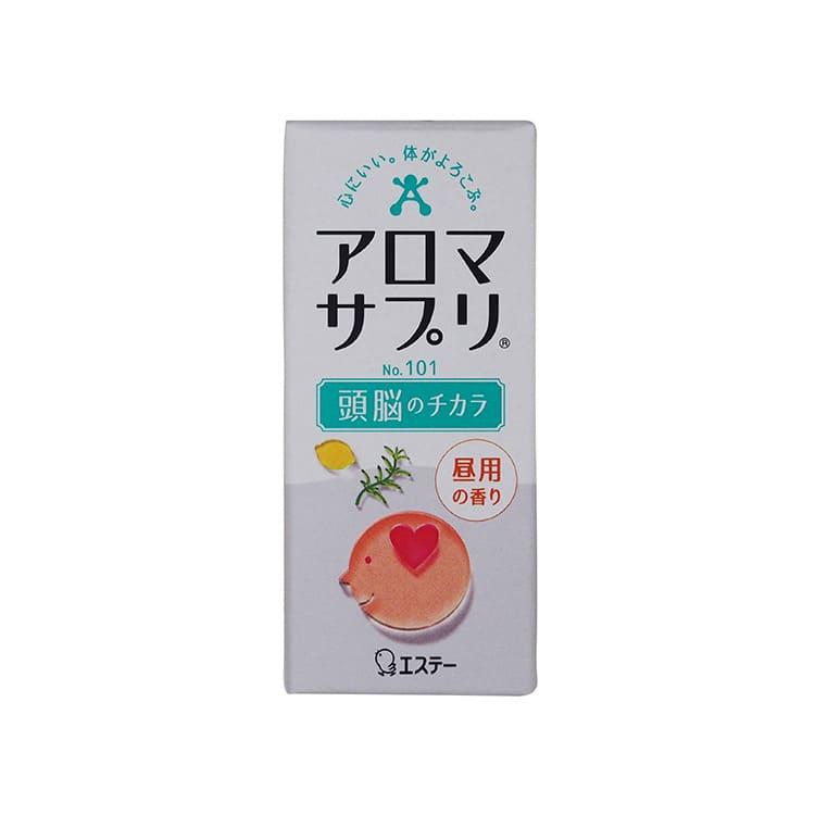 アロマサプリ アロマ瓶 頭脳のチカラシリーズ No.101 昼用の香り