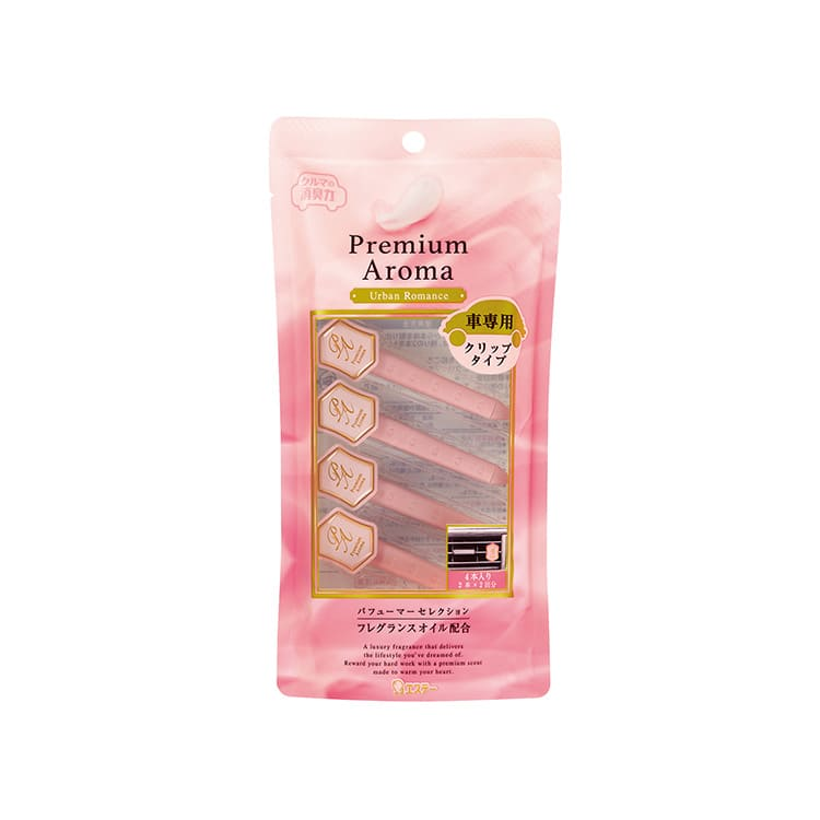 クルマの消臭力 Premium Aroma(プレミアムアロマ)クリップタイプ アーバンロマンス