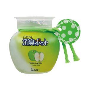 クルマの消臭ポット グリーンアップル